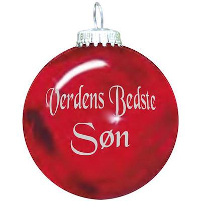Rolsted Copenhagen julekugle: verdens bedste søn