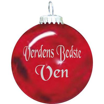 Rolsted Copenhagen julekugle: verdens bedste ven