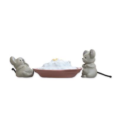 Etly Klarborg mus Gnist og Hannibal