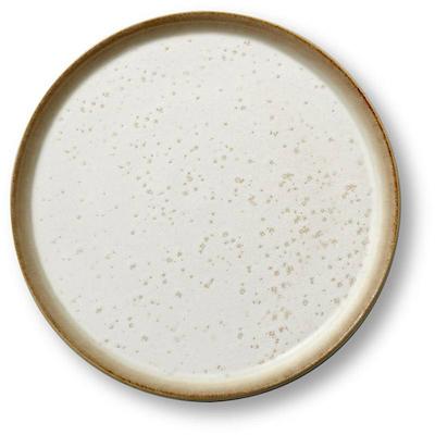 Bitz Gastro flad tallerken creme/creme 21 cm