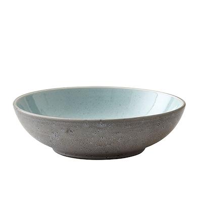 Bitz pastaskål grå/lyseblå 20 cm