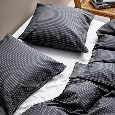 Södahl Common sengesæt ash 140x200 cm