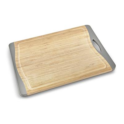 Aldente skærebræt med saftrille bambus 39x28 cm