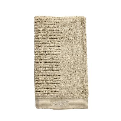 Zone Classic håndklæde warm sand 50x100 cm