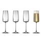 Lyngby Glas Zero champagneglas 4 stk. 30 cl