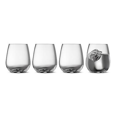 Lyngby Glas Zero vandglas 4 stk. 41 cl