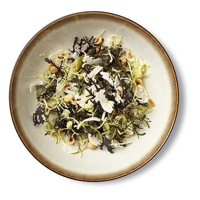 Bitz salatskål sort/creme 24 cm