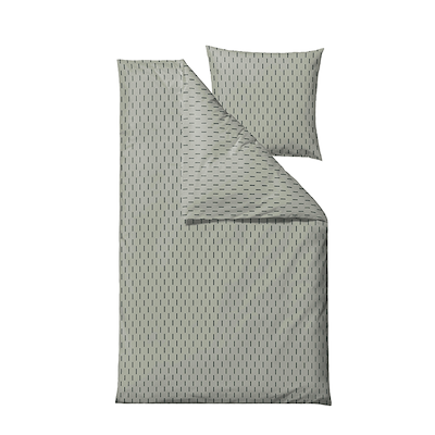 Södahl Graphic sengesæt green 140x220 cm