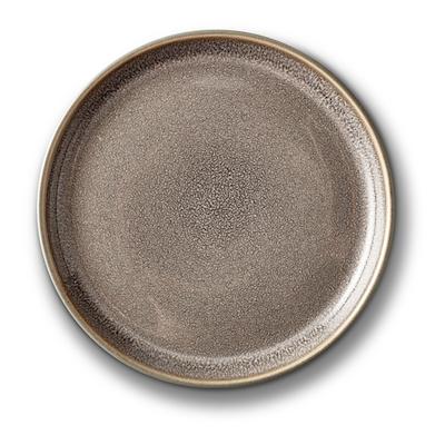 Bitz Gastro flad tallerken grå/grå 17 cm