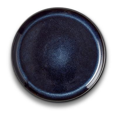 Bitz Gastro tallerken sort/mørkeblå 17 cm