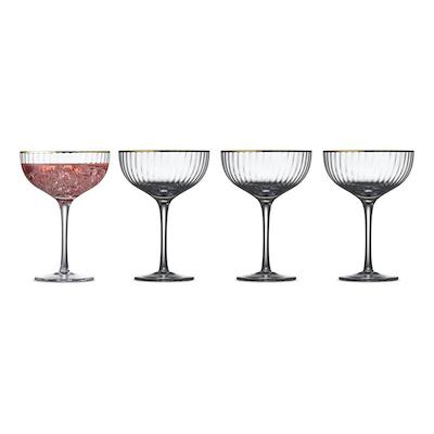 Lyngby Glas Palermo cocktailglas 4 stk. 31,5 cl