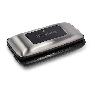 Holm vakuummaskine sølv/sort