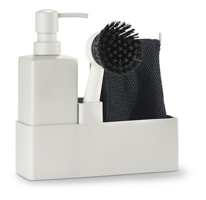 Zone opvaskesæt 4 dele warm grey