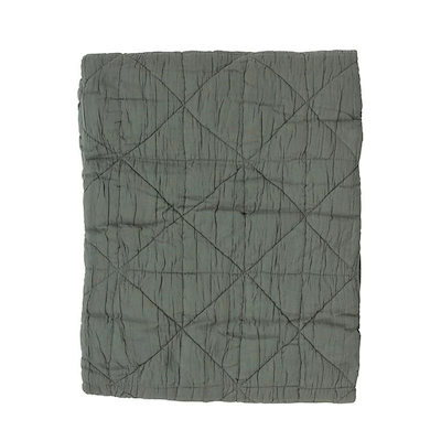 Södahl plaid triangle 130x170 leef green