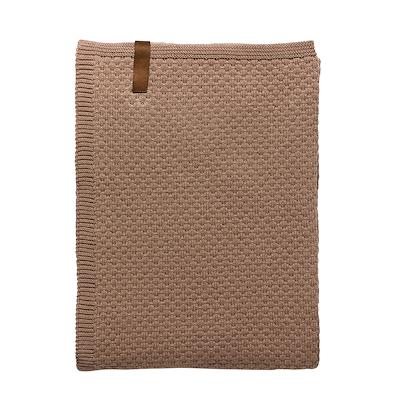 Södahl plaid sailor knit 130x170 cm nude