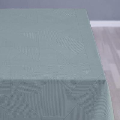 Södahl damask dug complex 140x320 cm teal