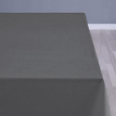 Södahl damask dug complex 140x320 cm grå