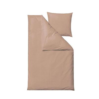 Södahl Edge sengesæt pudder 140x220 cm