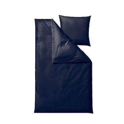 Södahl Edge sengesæt indigo 200x200 cm