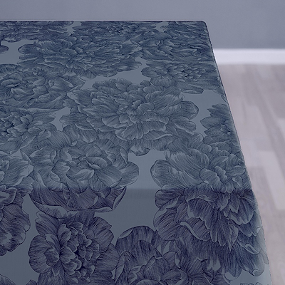 Södahl dug Modern Rose 140x180 cm china blue
