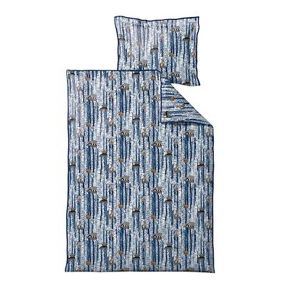 Södahl Sleepy Friends sengesæt til børn blå 70x100 cm