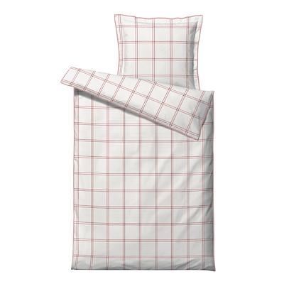Södahl Check It Out sengesæt rosa 140x220 cm