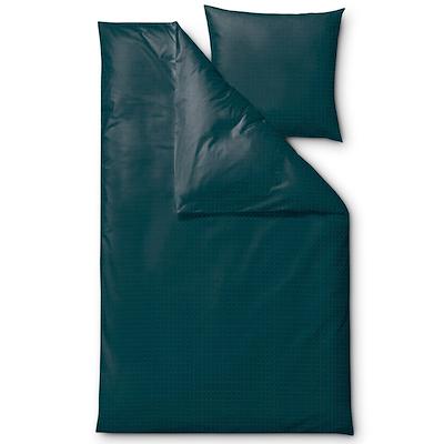 Södahl Edge sengesæt dark teal 140x200 cm