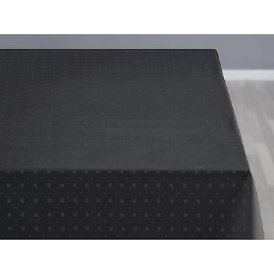 Södahl damask dug Squares 140x320 cm ash