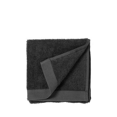 Södahl Comfort Organic håndklæde black 40x60 cm