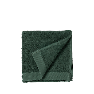 Södahl Comfort Organic håndklæde deep green 40x60 cm