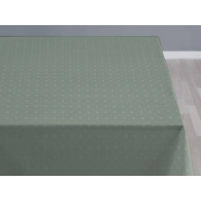 Södahl damask dug Squares 140x270 cm leaf green