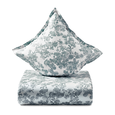 Södahl Blossom sengesæt linen blue 140x200 cm