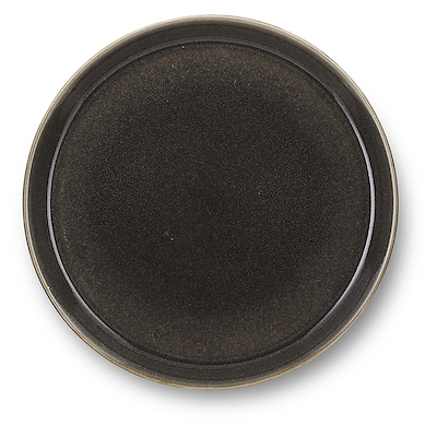 Bitz Gastro flad tallerken grå/grå 27cm