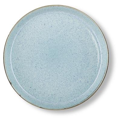 Bitz Gastro flad tallerken grå/lyseblå 27cm