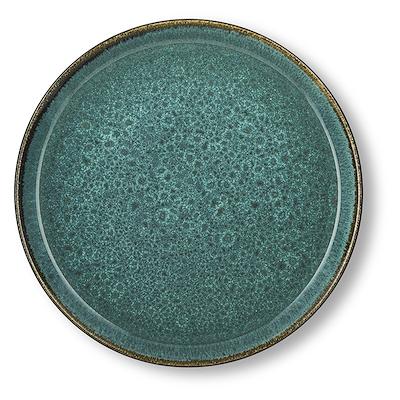 Bitz Gastro flad tallerken grøn/grøn 27 cm