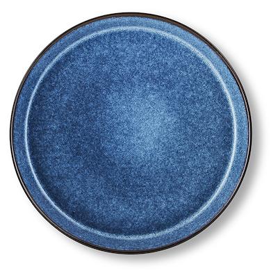 Bitz Gastro flad tallerken sort/mørkeblå 27 cm