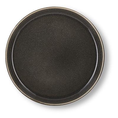 Bitz Gastro flad tallerken grå/grå 21 cm
