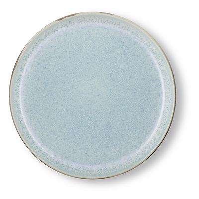 Bitz Gastro flad tallerken grå/lyseblå 21 cm