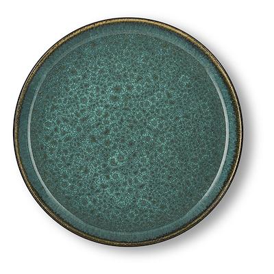 Bitz Gastro flad tallerken grøn/grøn 21 cm