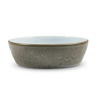 Bitz Gastro suppeskål grå/blå 18 cm