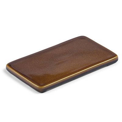Bitz kuverttallerken amber 22x12,8 cm