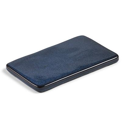 Bitz kuverttallerken mørkblå 22x12,8 cm