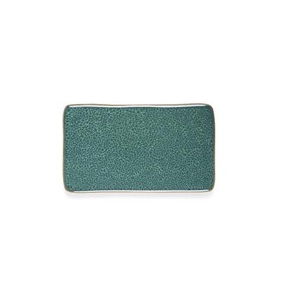 Bitz kuverttallerken grøn 22x12,8 cm