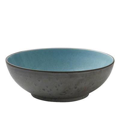 Bitz salatskål grå/lysblå 30 cm