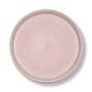 Bitz Gastro flad tallerken grå/lyserød 21 cm