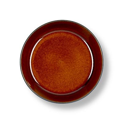 Bitz Gastro suppeskål sort/amber 18 cm