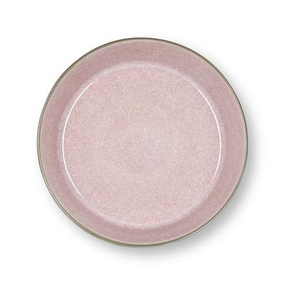 Bitz Gastro suppeskål grå/lyserød 18 cm