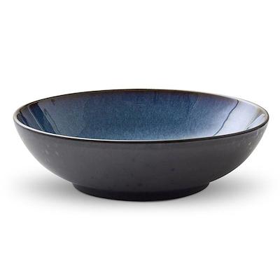 Bitz salatskål sort/blå 24 cm