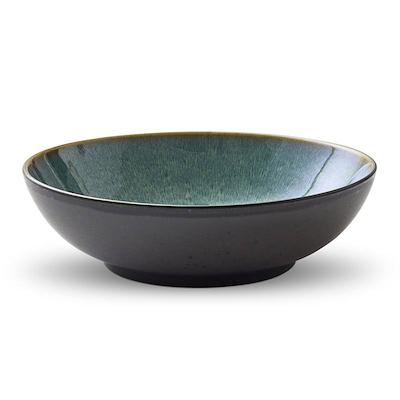 Bitz salatskål sort/grøn 24 cm