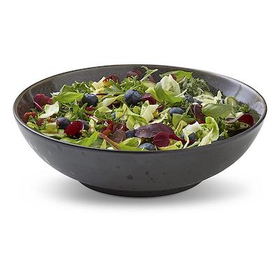 Bitz salatskål sort/grå 24 cm